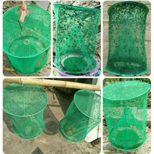 3 Ranch Fly Trap Catcher Cage Trap Catch
