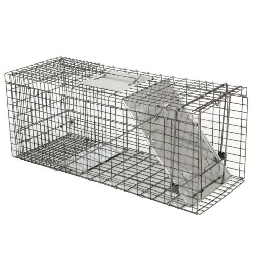 32 humane animal trap steel cage