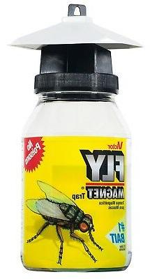 Victor Reusable Fly Magnet Quart Trap With Bait - M380