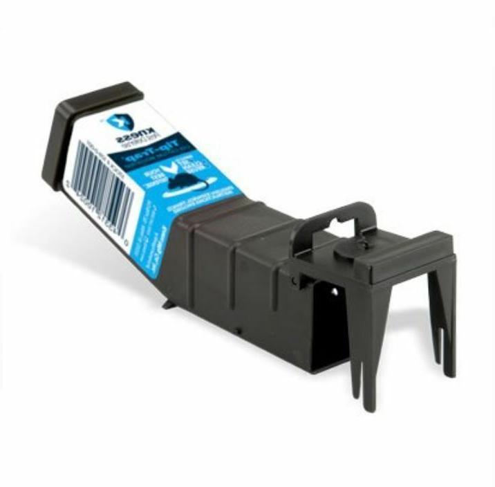 3 pack tip trap live capture mousetrap