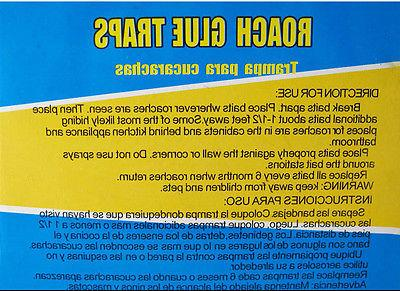4 Board Pest Insect Bugs Control Catch
