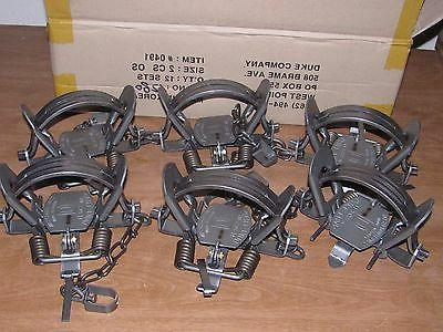 6 2 coil spring offset traps raccoon