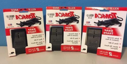 6 Tomcat Mice Snap traps