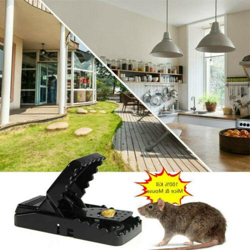 6-PACK Reusable MOUSE TRAPS Rat Rodent Trap Killer