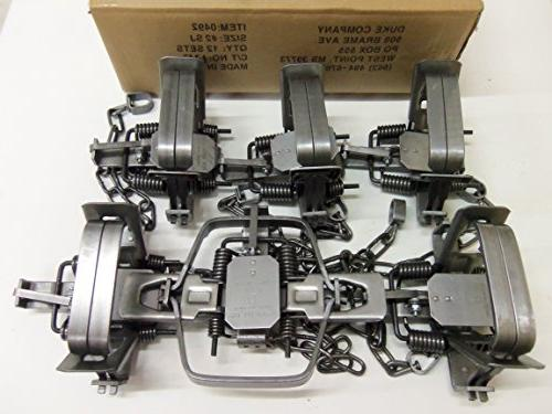 6 square jaw coil spring
