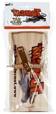 Motomco 0373408 Tomcat Wooden Rat Rodent Trap Traps
