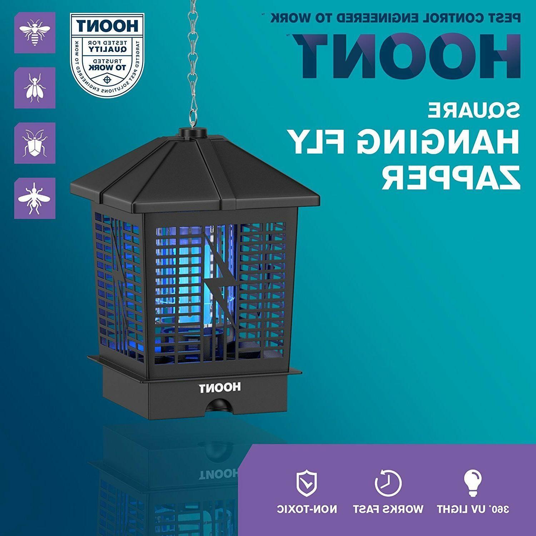 Hoont Powerful Electric Indoor Outdoor Bug Zapper with UV Li