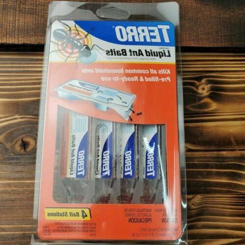 Terro: Indoor/Outdoor Liquid Baits Ant Killer II, 1.4 Fl Oz