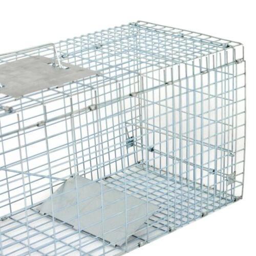 Humane Animal Steel Cage Live Control Skunk Rabbit