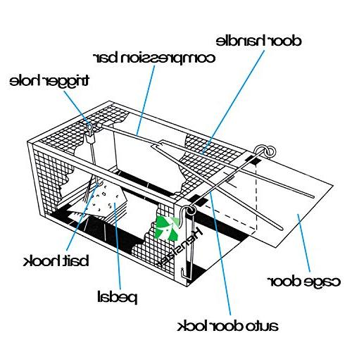 Kensizer Animal Humane Cage Trap for Other
