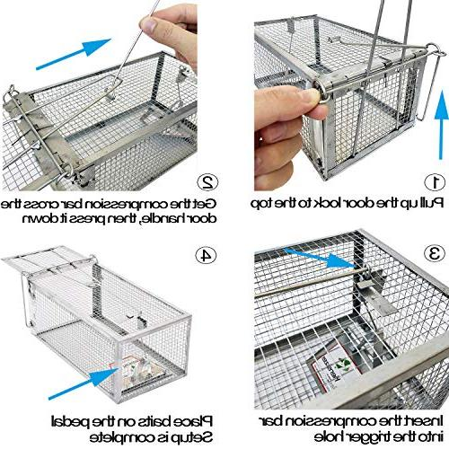 Kensizer Animal Cage Mouse, Mice, Hamster and Other Rodents