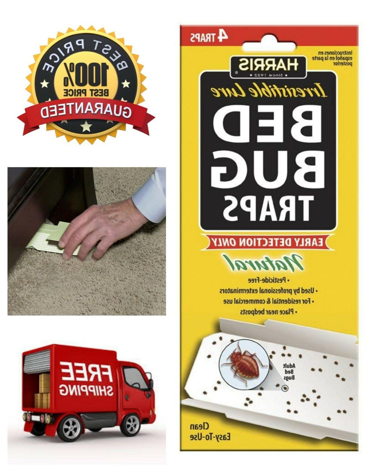 Harris Bed Bug Early Detection Glue Traps Insect Pest Contro