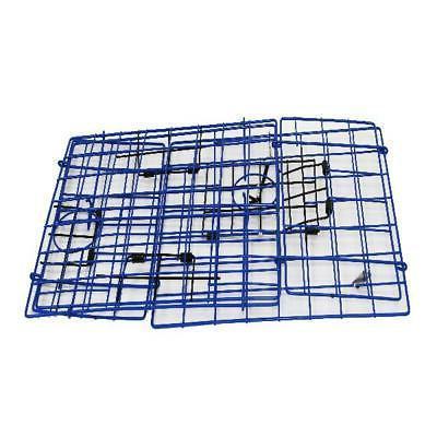 Blue Metal Catching Folding Crab Box Basket with Door