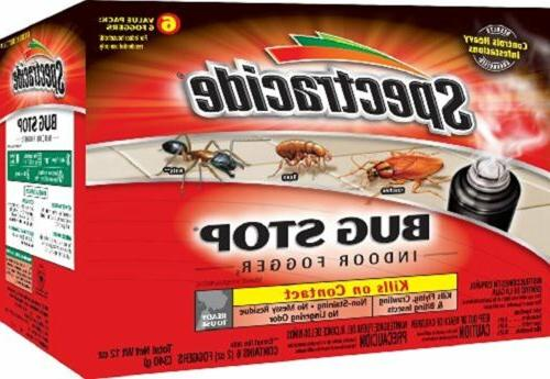 Bug Stop Indoor Fogger Pest Control Kill Cockroache Non Stai