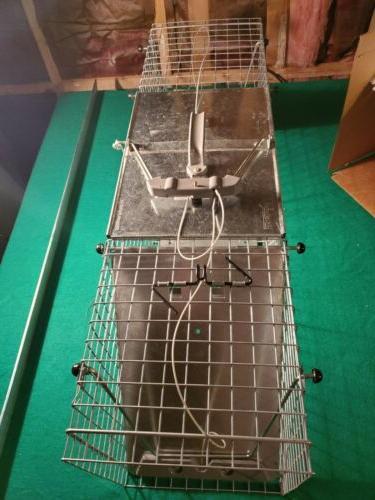 Easy Set One-Door Cage TRAPS RACOON