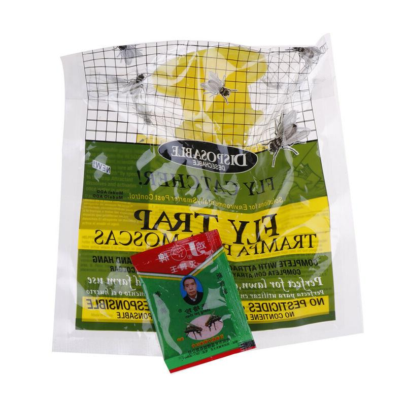Disposable Fly Toxic Bag Outdoor Killer Pest