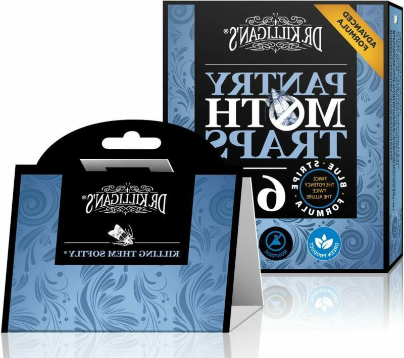 Dr. Killigan'S Premium Pantry Moth Traps With Pheromone Attr