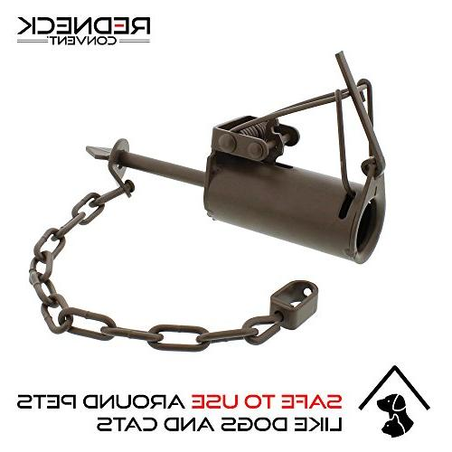 Redneck DP Leg Trap 2-Pack – for Nutria, Fox, Mink Trapping