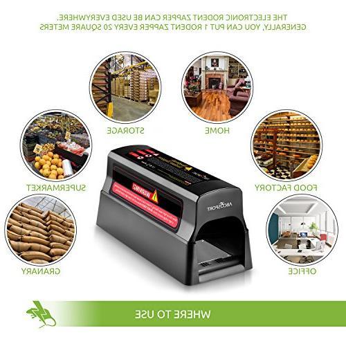 - Mouse Killer Squirrels – No Poison Use - Shock Instant – Safe, Mess-Free & Works & Upgraded}