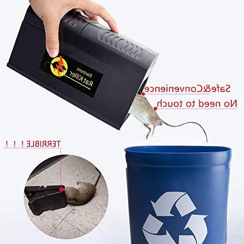 Big-Fun Mouse Traps, High Voltage Powerful Solution Rat, Squirrels Mice and Similar Pest