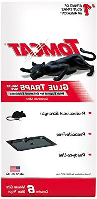 Tomcat Glue Traps Mouse Size with Eugenol for Enhanced Stick