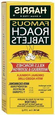 Harris Roach Tablets Boric Acid Roach Killer with Lure Alter