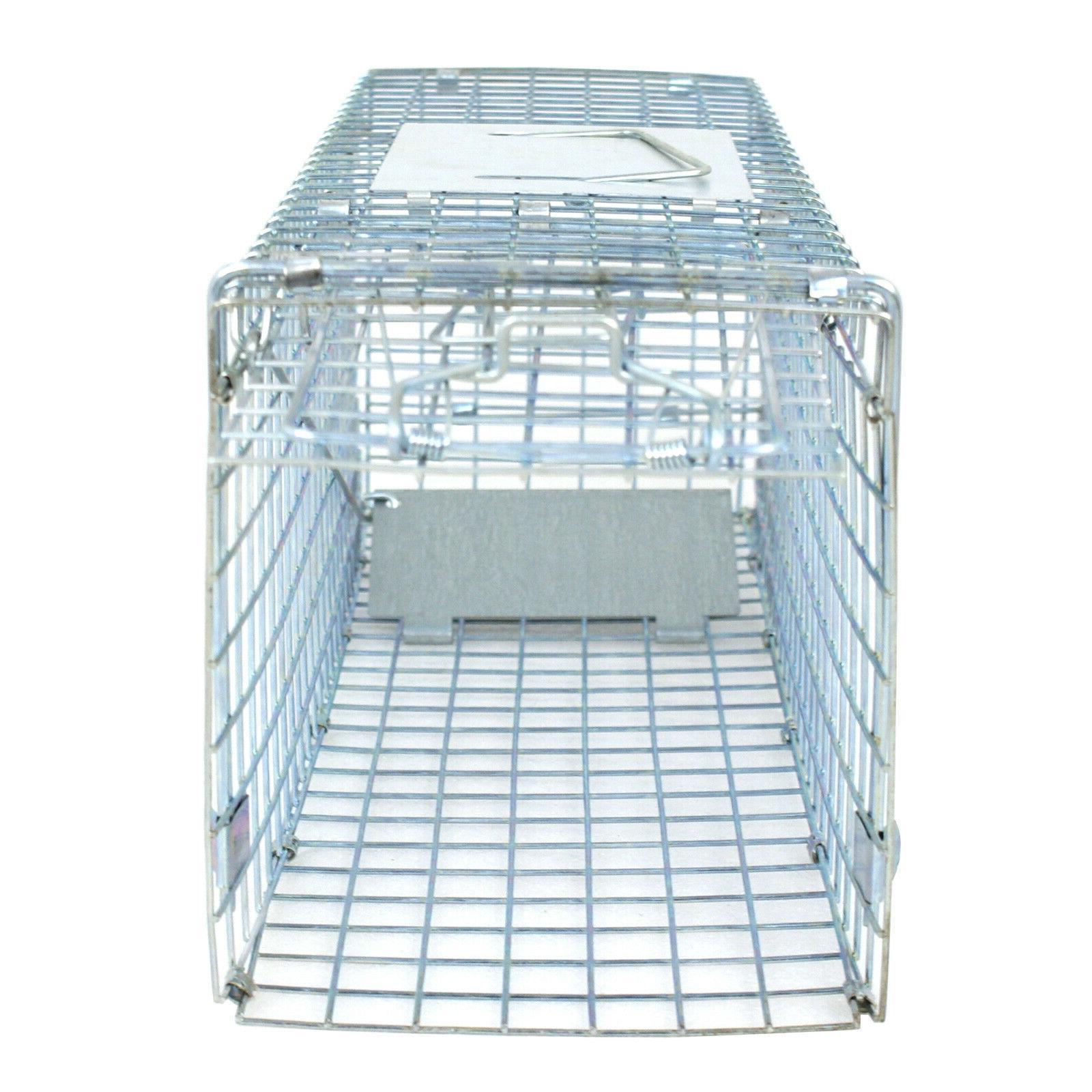 humane animal trap 24 steel