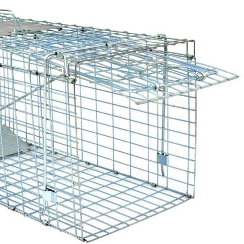 Live Animal Trap Extra Large Rodent Cage Garden Rabbit Racco