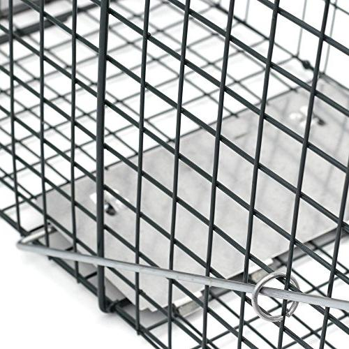 Sawan Shop Trap 32x12x12 Steel Live Rodent Control Skunk Rabbit Opossum