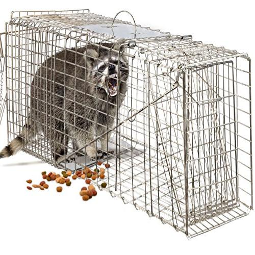 humane animal trap steel cage