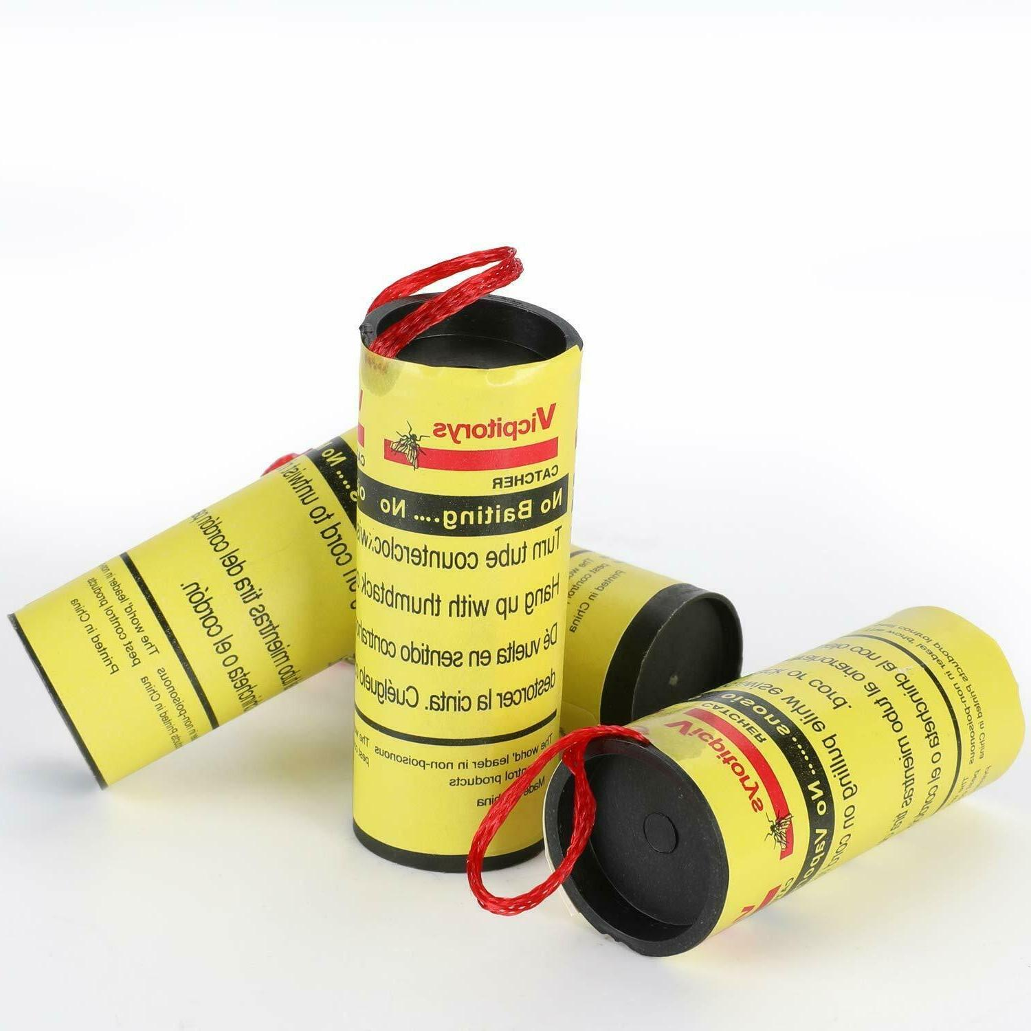 INSECT FLY GLUE PAPER CATCHER TRAP TAPE ROLLS