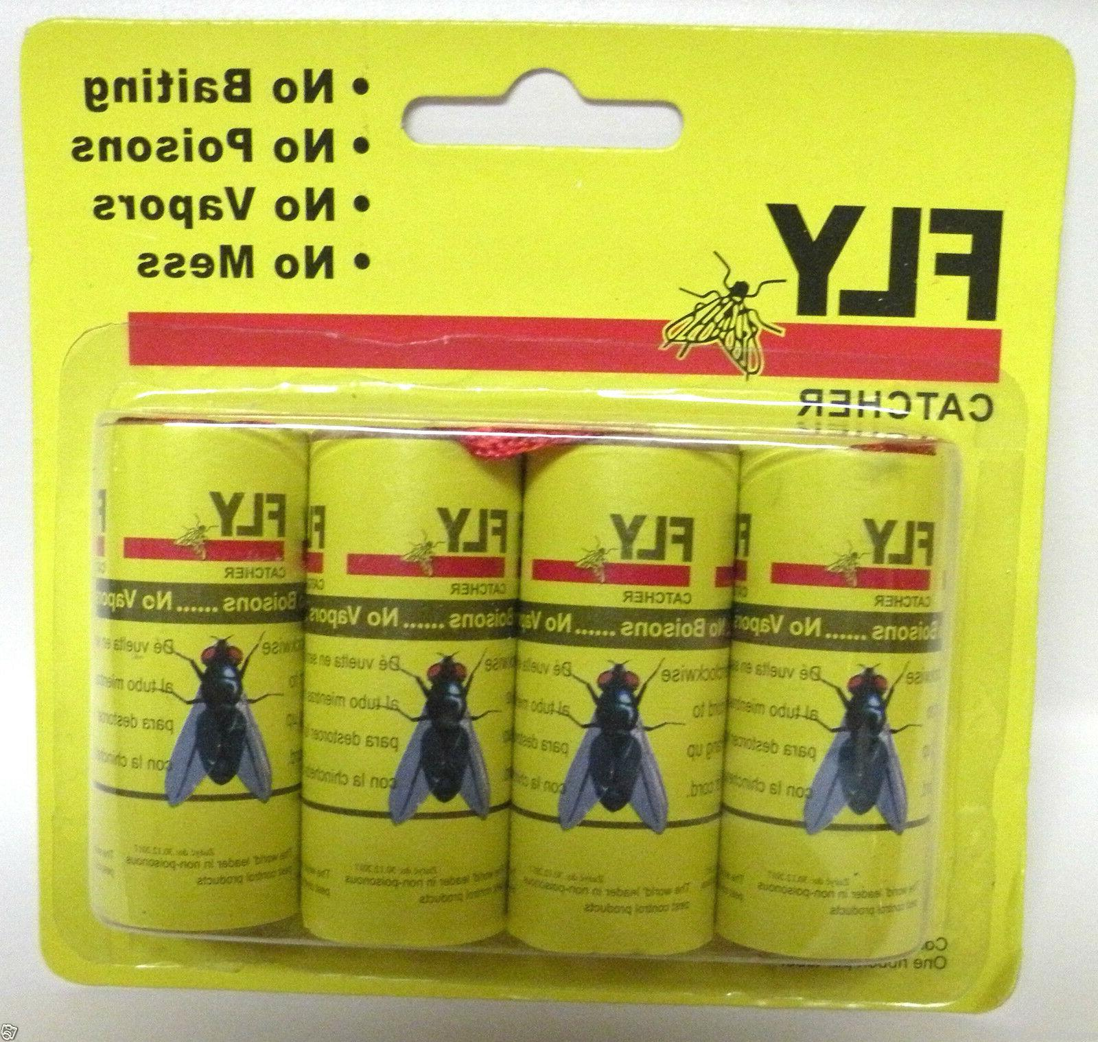Insect Fly Glue Trap Tape Strip Rolls