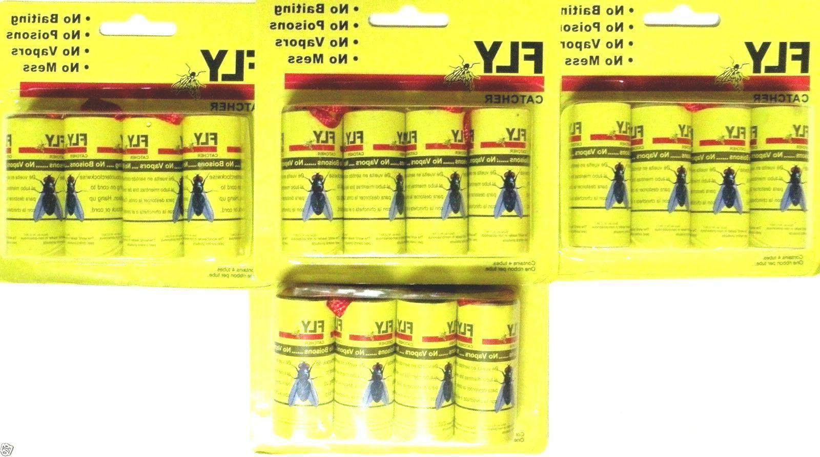 Insect Bug Fly Glue Catcher Trap Tape Strip Rolls