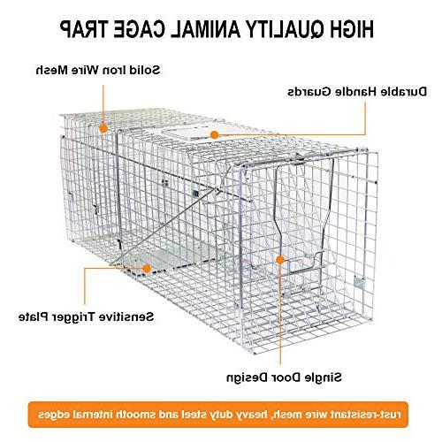 "Twinkle Star Animal Cage Trap 11"" 12.5"" Release Cage Squirrel Groundhog Chipmunks Opossum Cats Rescue Rabbits"