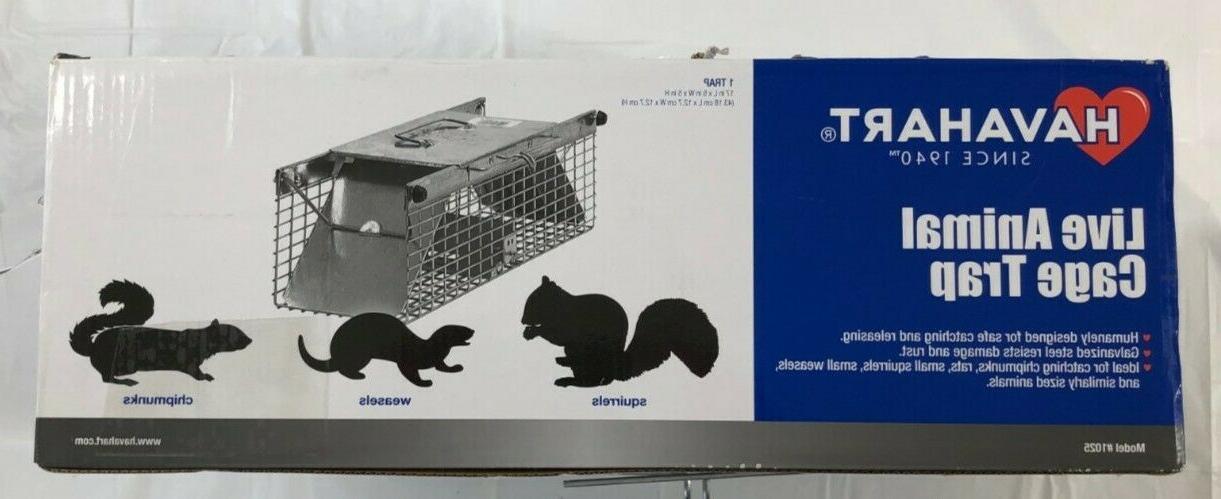 live animal cage trap model 1025