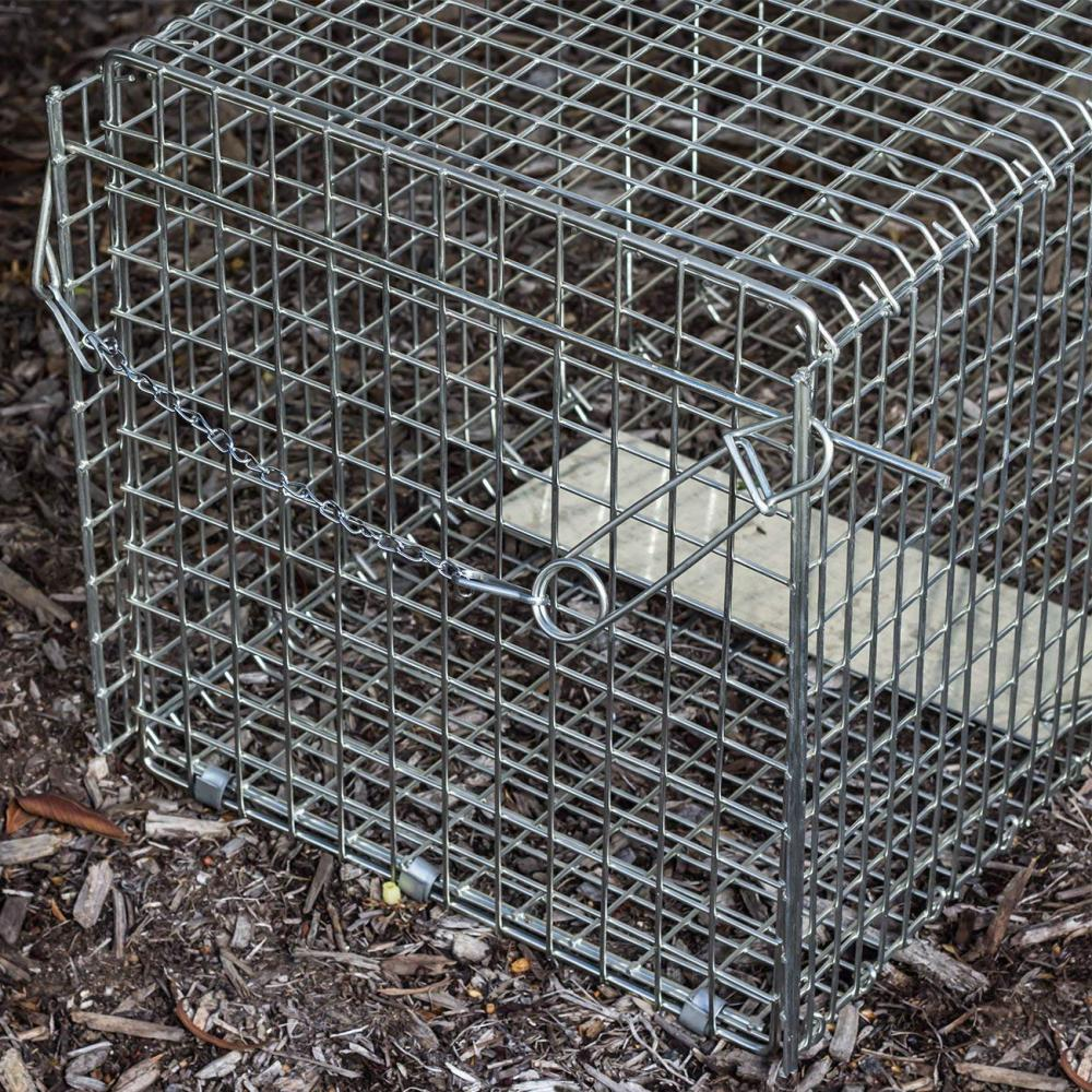 """OxGord Trap 32""""x12""""x12"""" Large Release Humane Cage"""
