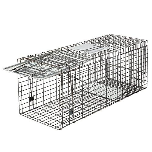 """HomGarden Animal 32""""x12.5""""x12"""" Catch Release Humane Rodent Cage for Groundhog, Cat, Raccoon, Mole, Opossum, Chipmunks Nuisance"""