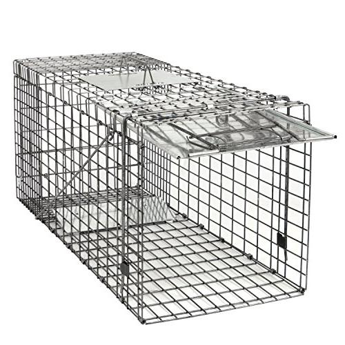 """HomGarden Live 32""""x12.5""""x12"""" Catch Release Humane Rodent Cage for Groundhog, Raccoon, Mole, Opossum, Nuisance Rodents"""