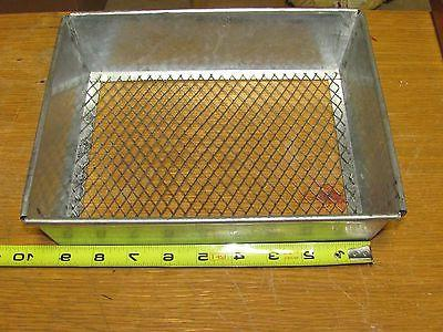 metal dirt sifter trapping traps raccoon fox