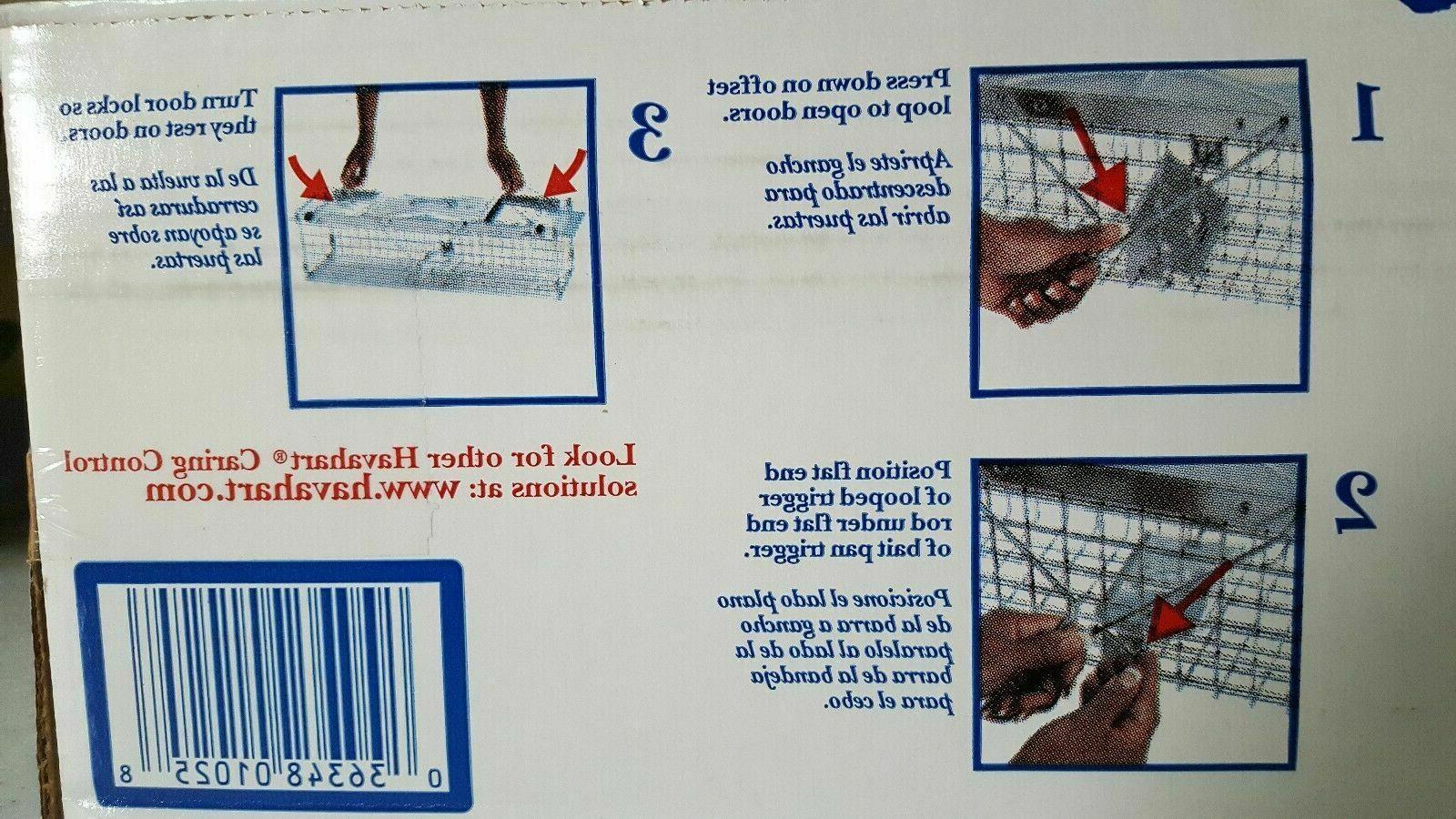 "HAVAHART MODEL ANIMAL CAGE TRAP Humane 18"" squirrels chipmunks rats"