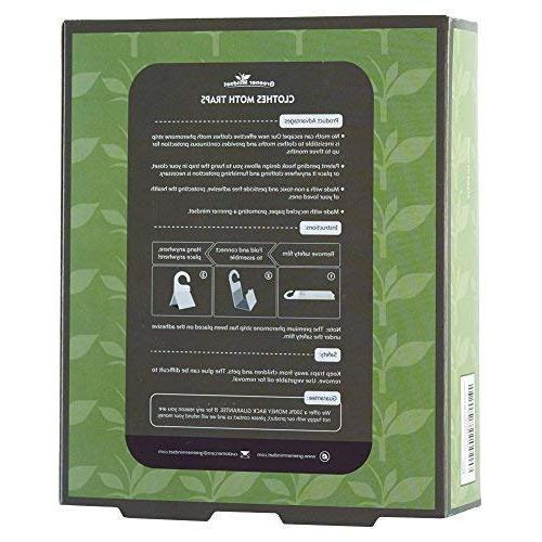 Greener Clothes Traps 7-Pack with Pheromone Attractant | Effective Trap Available Non-Toxic No