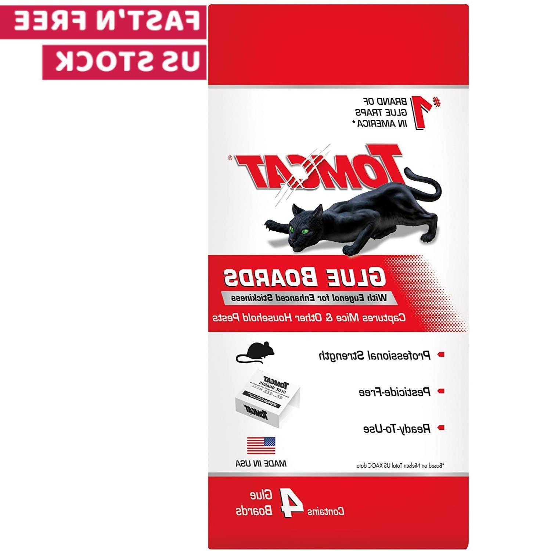 Tomcat Mouse Glue Traps W Eugenol For Enhanced Stickiness No