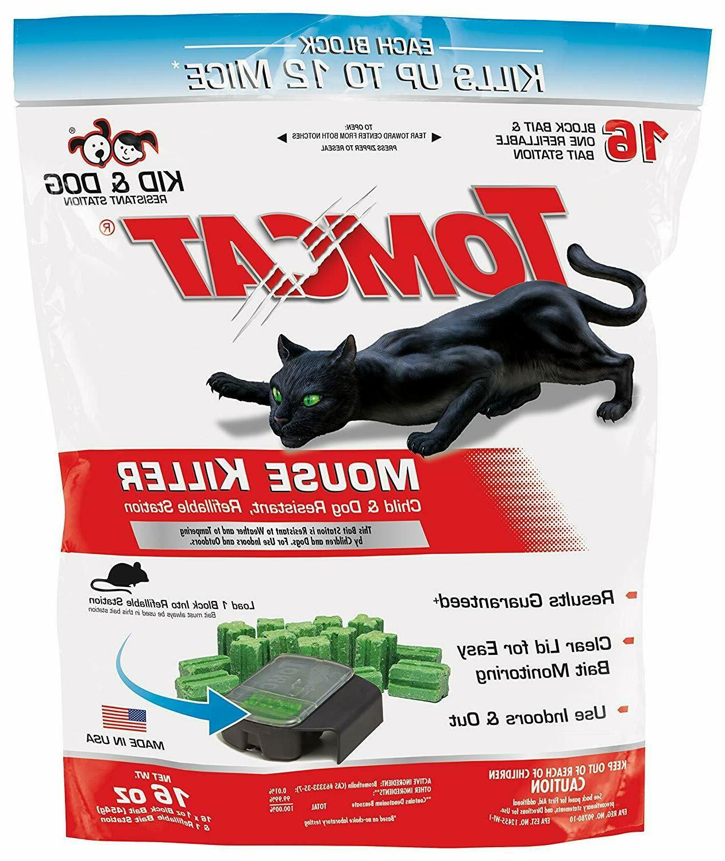 Tomcat Mouse Rat Pest Rid Trap 16