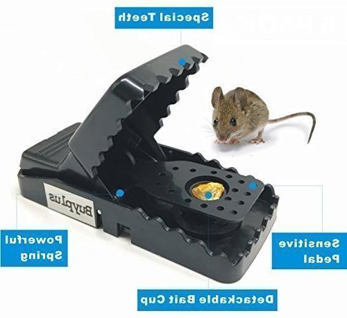 Buyplus Mouse - Rat/Mice Work Catcher, Safe and