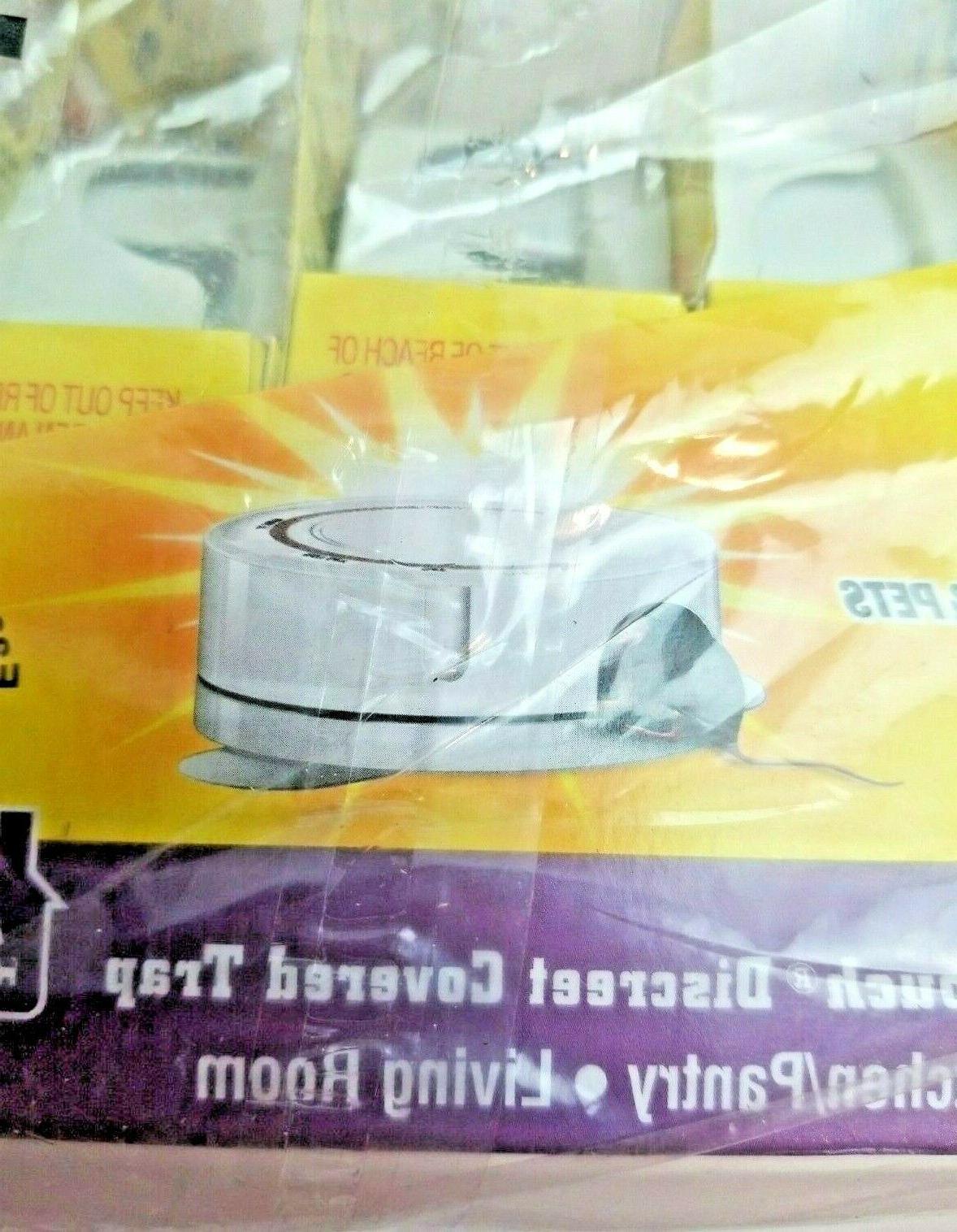 NEW! d-Con Mice Poison Mouse Discreet Traps