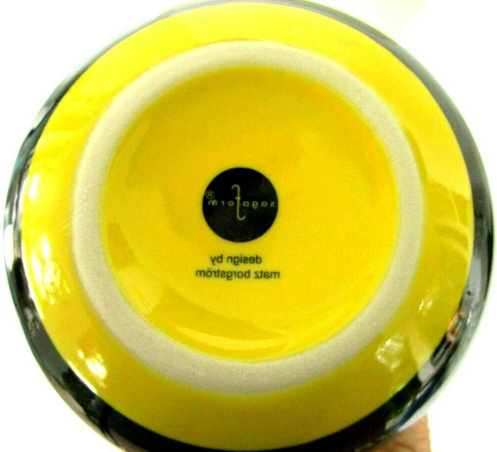NEW Sagaform Wasp Bee Hornet Fly Trap Matz and Yellow