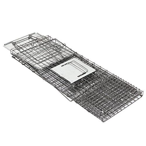 """HomGarden Live 32""""x12.5""""x12"""" Rodent Cage for Groundhog, Squirrel, Raccoon, Mole, Opossum, & Nuisance"""