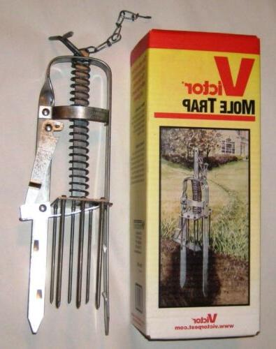 Victor Plunger Mole Trap  , New, Free Shipping