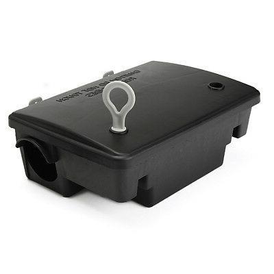 professional rodent bait block station box case