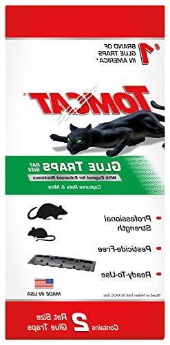 Tomcat Rat Glue Trap W/Eugenol, NEW